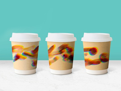 Coffe cup design
