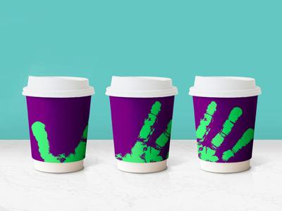 Coffe cup design