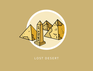Worlds of Neopia Icon Collection: Lost Desert