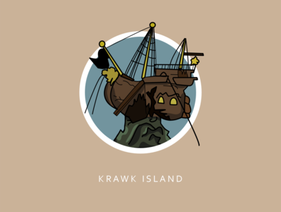 Worlds of Neopia Icon Collection: Krawk Island