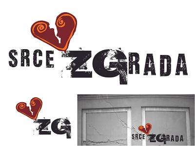 Srce ZGrada website branding logo