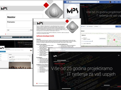 Mips Brand website branding design