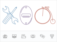 Bike Shop Icons