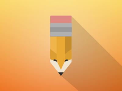 Pencil-Fox Designs - Logo Concept design logo illustration fox pencil sketch