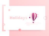 Holidays Illustration