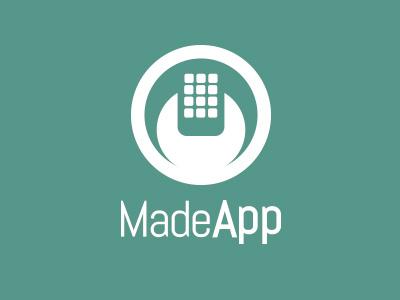 MadeApp Logo logo branding