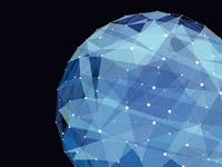 Sphere vector globe