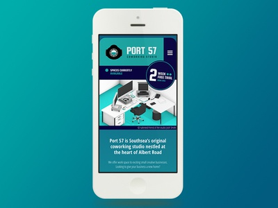 New Port 57 Website