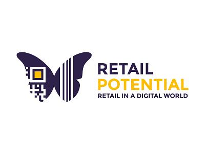 Retail Expert Logo blockchain retail logo