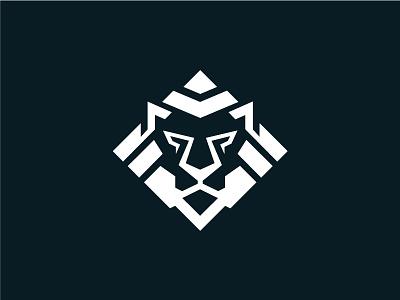Lion Pride Logo silhouette element art face graphic icon emblem power illustration sign pride head king strength design vector logo symbol animal lion