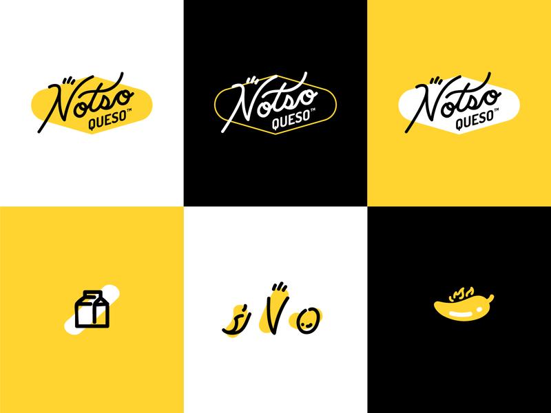 Notso Queso Branding