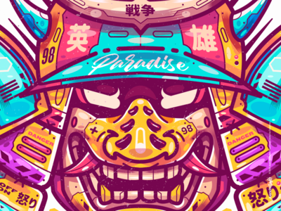 KURAISHI 暗い素晴らしさ character venezuela cool art color creative illustration design