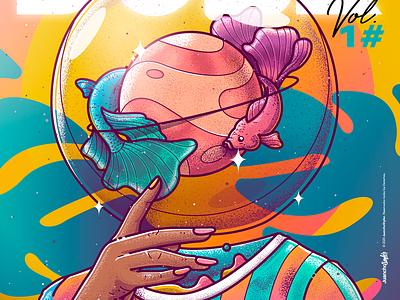 Cada cabeza es un mundo ✨ crazy beauty character venezuela art cool color creative illustration design
