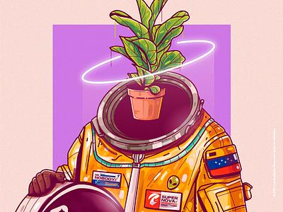 Mr. Nobody crazy beauty character venezuela art cool color creative illustration design