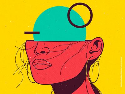DAWN 🩸 crazy beauty character venezuela cool art color creative illustration design