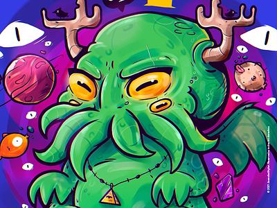 Cthulhu 🦑 venezuela cool art color creative illustration design