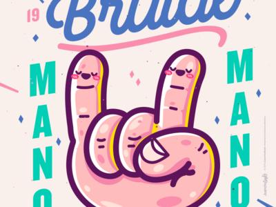 HandStyler. cute abstract crazy character beauty venezuela art cool creative color illustration design