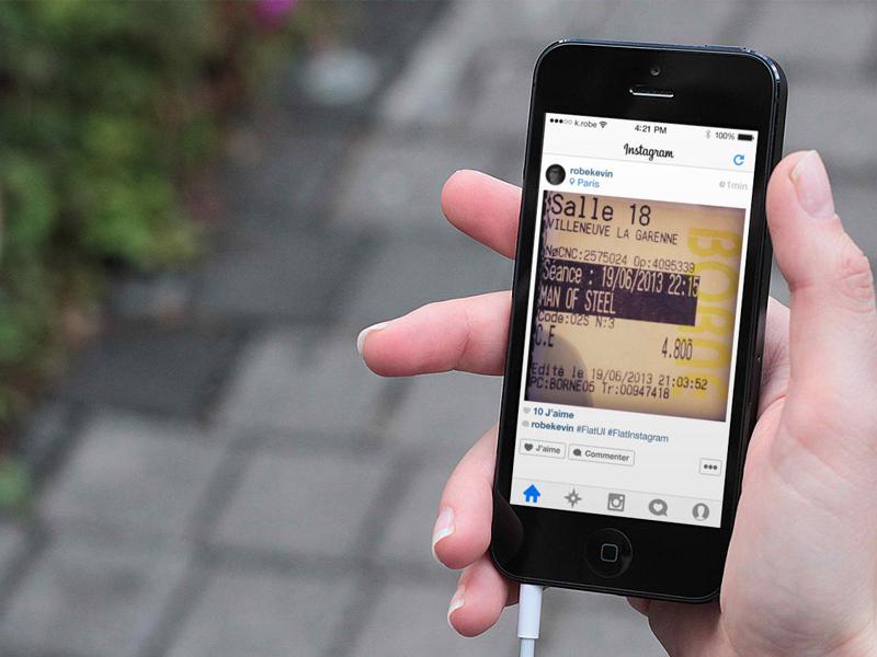 [PSD] iOS 7 Instagram ios ios7 instagram flat flatui ui psd free ios 7