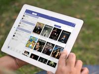 [PSD] iOS 7 iTV Show iPad app