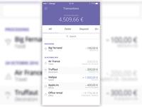 Banking app practice