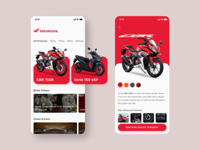 Motorcycle App Concept