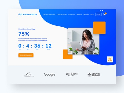 Web Hosting Landing Page Redesign
