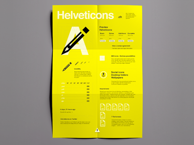 Helveticons layout