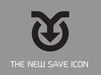 THE NEW SAVE ICON PROCESS INCLUDED save icon symbol process wall of text inside the designers studio 2009