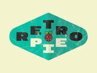 Retro Pie Logo Concept