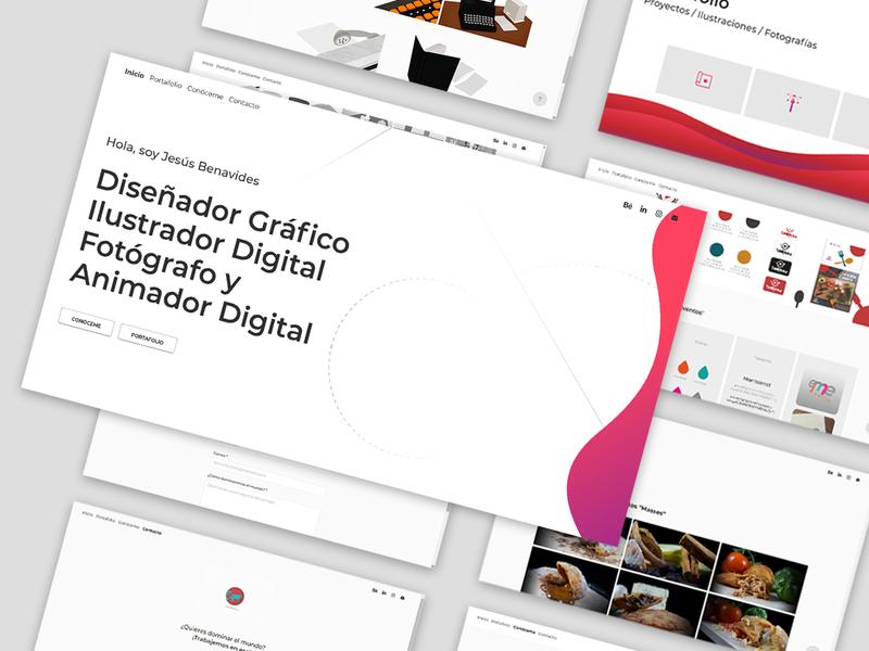 Portfolio design css html landingpage index webpage webdesign website uxdesign ux ui design uiux branding ui