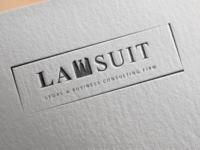 Lawsuit Logo Mockup