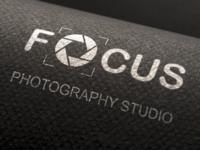 Focus Logo Design Mockup