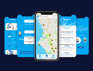Marseille Eco-Mobility Mobile App