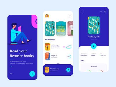 E-book app design 📚 reading app reading e-book ebook book mobile app design mobile app mobile ui mobile ux minimalism clean ui clean app ui app design app uidesign ui minimal design