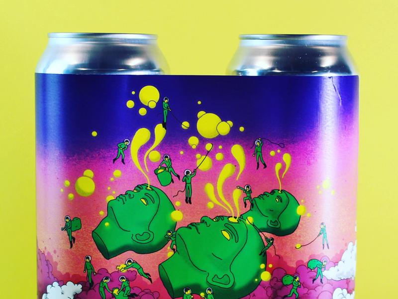 Faces 4 beer productdesign design illustration