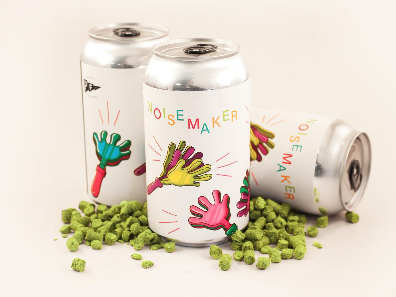 Noisemaker productdesign craft design branding beer beerlabels illustration