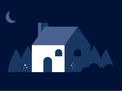 Home - flat illustration
