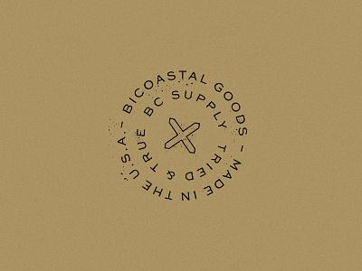 BC Supply Brand Lockup badge circle lockup circle logo design design brand logo lockup