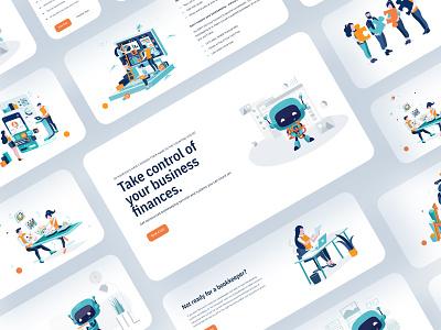 Website Design for The Counting House website concept light colors simple design custom design website website design web design uiuxdesign ux design ui design interface illustration webdesign london vector typography graphicdesign branding billieargent design