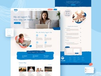 Web design for Anxiety Support Hub website design web design web app design web app vecto uiux design ux ui typography mentalhealth london interface illustration forum design billieargent app anxiety
