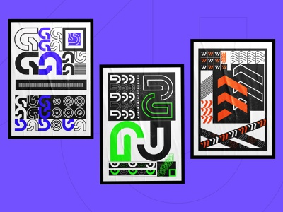 Typographic experiments 😊 Hope you enjoy! alphabet refraction abstract artwork art grunge dispersion vanguard poster art poster letter branding inspiration designinspiration graphicdesign icon illustration logo design typography
