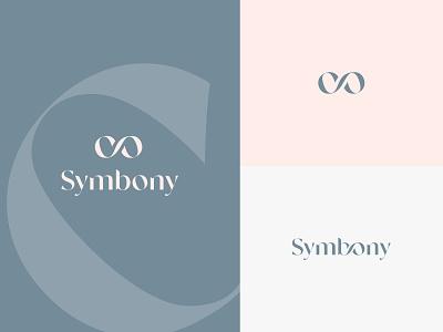 Logotype for Symbony jewelry💫 sophisticated logotype fashion shop jewels beauty mark graphicdesign design typography branding logo symbol jewellery store jewelry luxury website grid minimal
