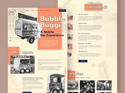 Mobile bar website 🍺🍷🍹🍸