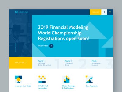 Financial modeling competitions website