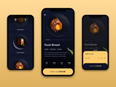 Food Order App  - UI Design - 🥘 | Part 1