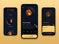 Food Order App  - UI Design - 🥘