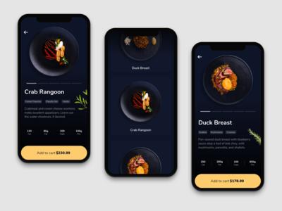 Food Order App  - UI Design - 🥘 | Part 2