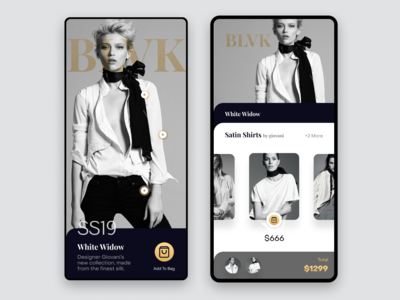 Fashion App - eCommerce - UI