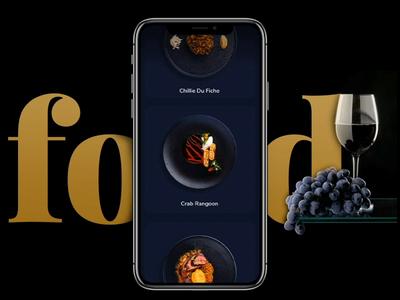 Food Order App - UI Design - 🥘   Part 3