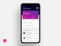 eWallet Finance App - Interaction UI